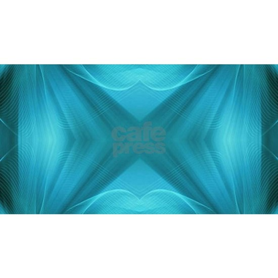 abstract teal geometric pattern
