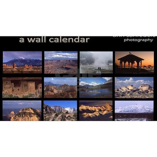 Twelve National Parks Wall Calendar