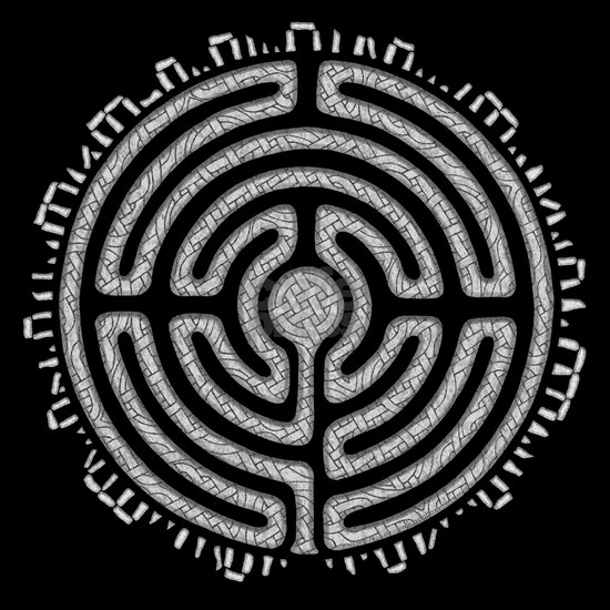 Celtic Labyrinth Mandala
