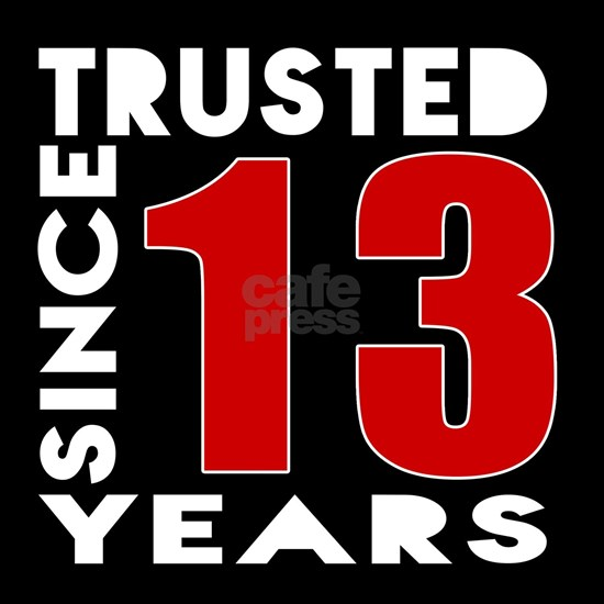 Trusted Since 13 Years