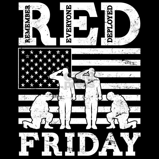 Red Friday Soldiers