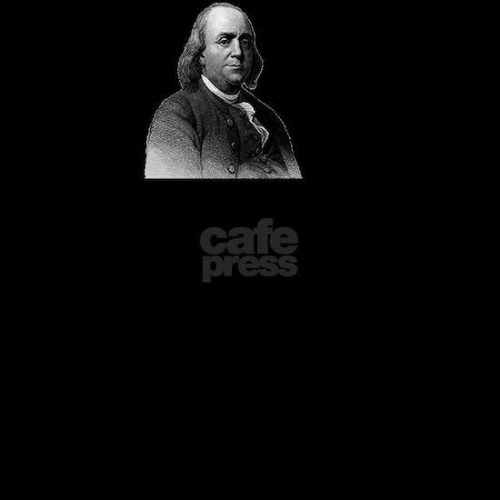 Ben Franklin Funny Quote Men's Dark Pajamas by Spot_Of ...