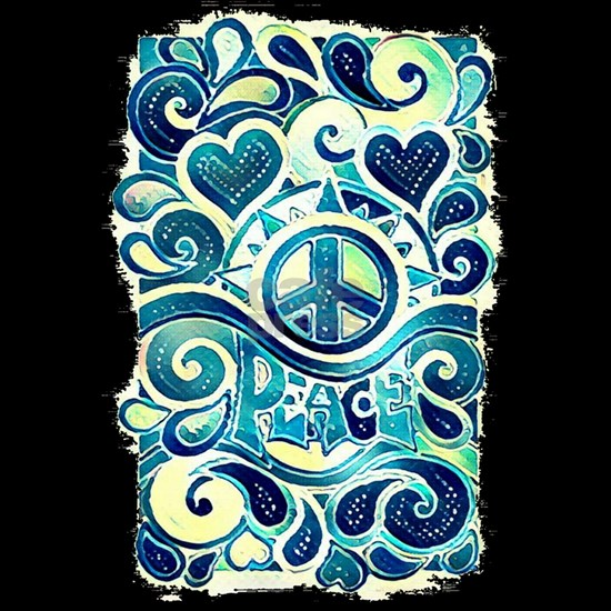 Colorful Hippie Art