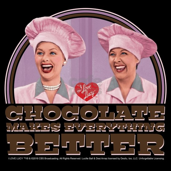 I Love Lucy: Chocolate Makes Everything Better Dar