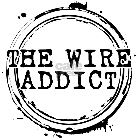 The Wire Addict Stamp