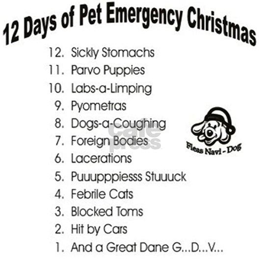 Pet Emergency Christmas Design