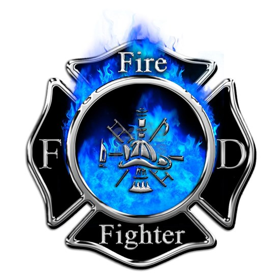 Firefighter Maltese Cross