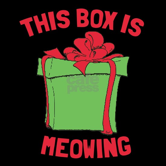 This Box is Meowing Christmas Vacation