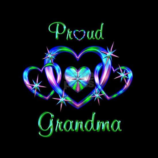 Proud Grandma Hearts