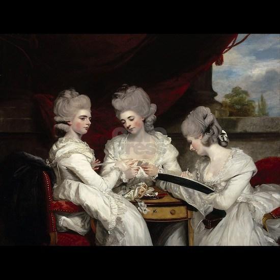 Joshua Reynoldss The Ladies Waldegrave Womens Dark