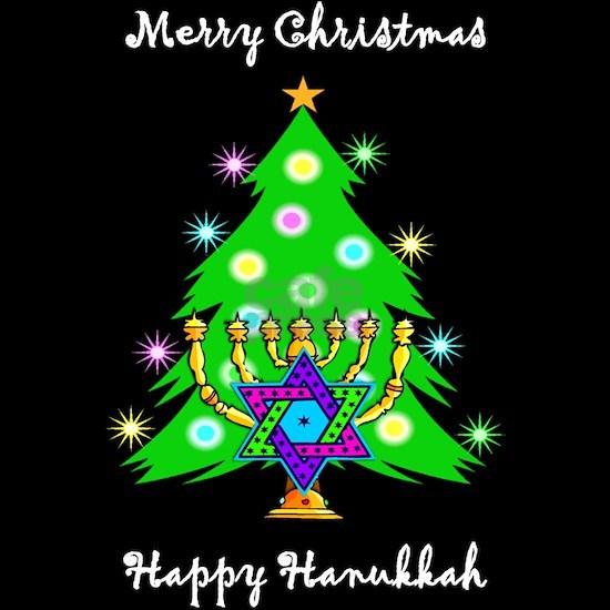 Christmas Hannakah.Hanukkah And Christmas Interfaith Men S Dark Women S Dark Pajamas