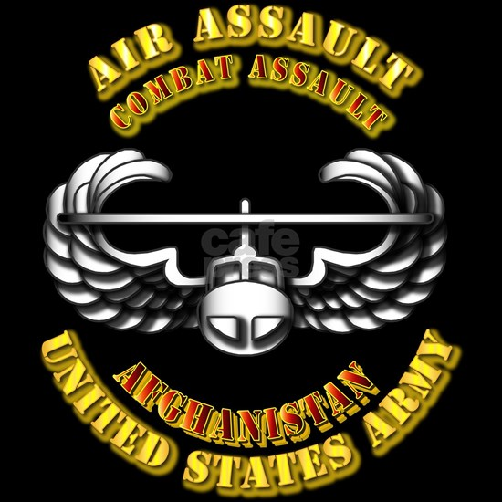 T-Shirt - Army - Air Assault - Combat - Afghanist