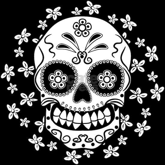 Sugar Skull.B  W