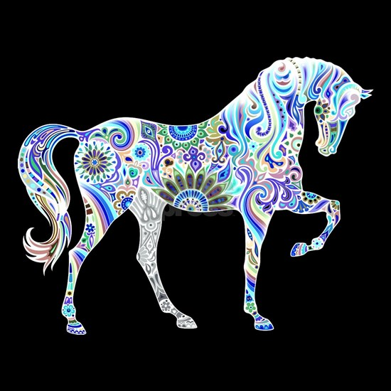 Cool Colorful Horse