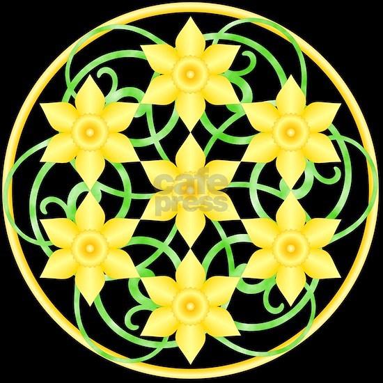 Daffodils Mandala