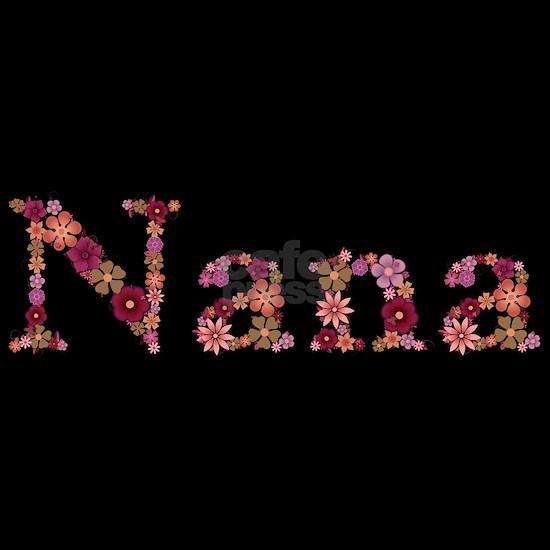 Nana Pink Flowers