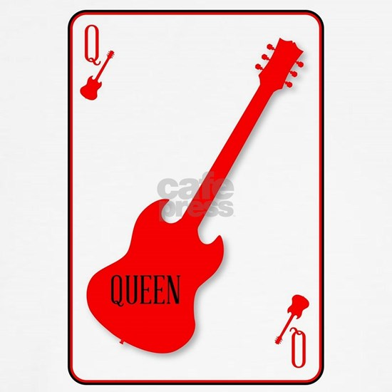 Red Horned Guitar Queen
