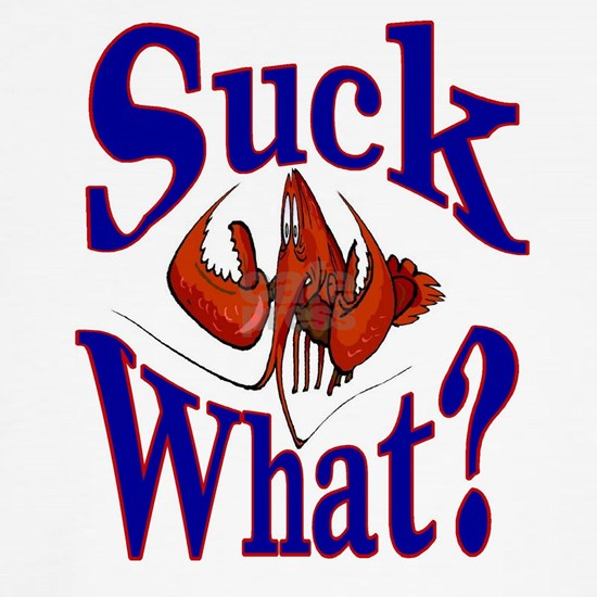 Suck What Crawfish Logo
