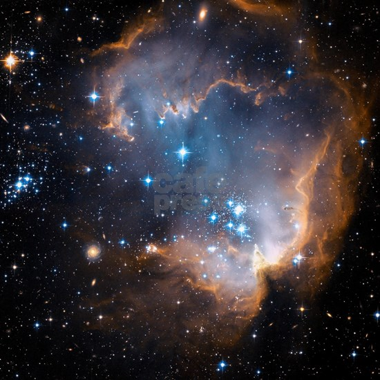 Starbirth region NGC 602