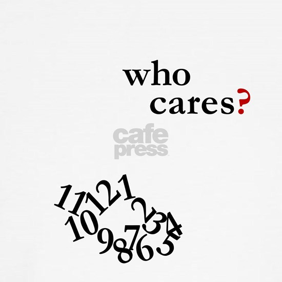 Who Cares? Clock