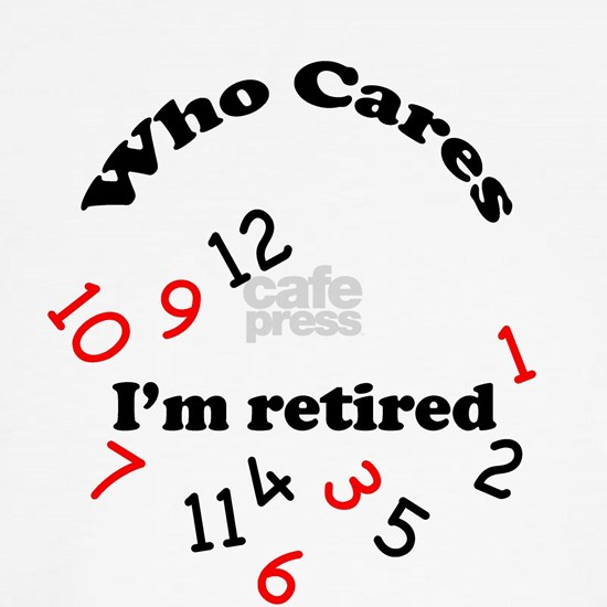 who cares retired clock