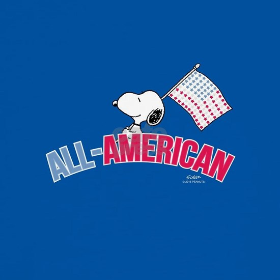 Snoopy - All American Full Bleed