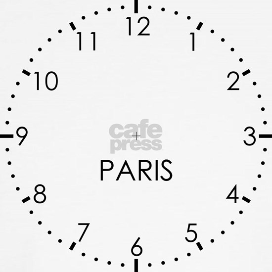 PARIS Newsroom Wall Clock