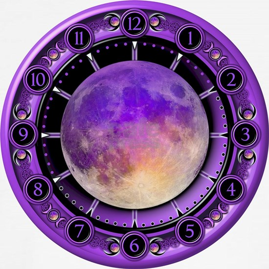 Clock of the Purple Moon