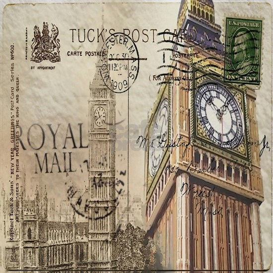 vintage london big ben