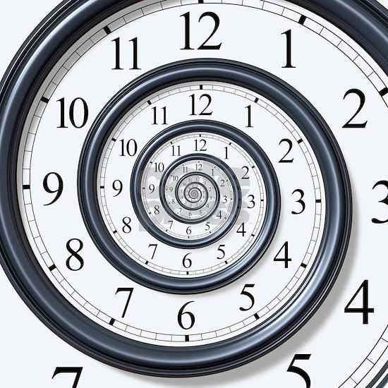 SPIRAL CLOCK 000013371056Large