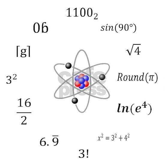 Sheldon Cooper Maths hi res clock