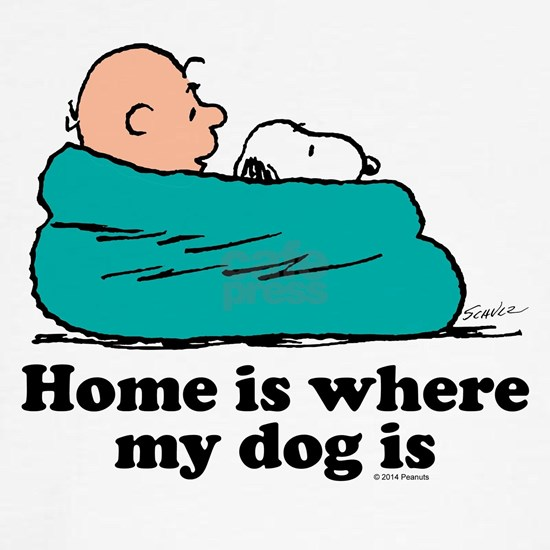 Snoopy - Home is where my dog is