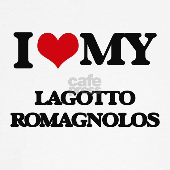 I love my Lagotto Romagnolos