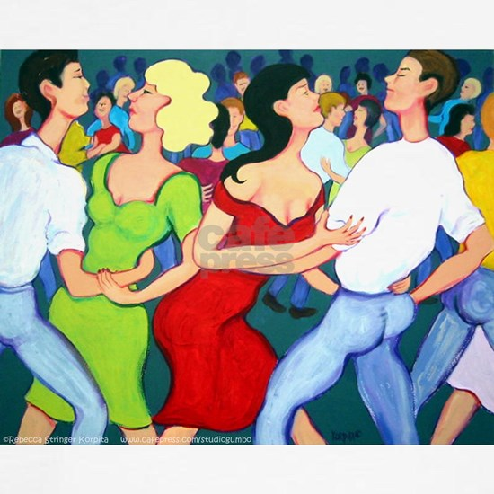 Two Stepping at Tees Cafepress