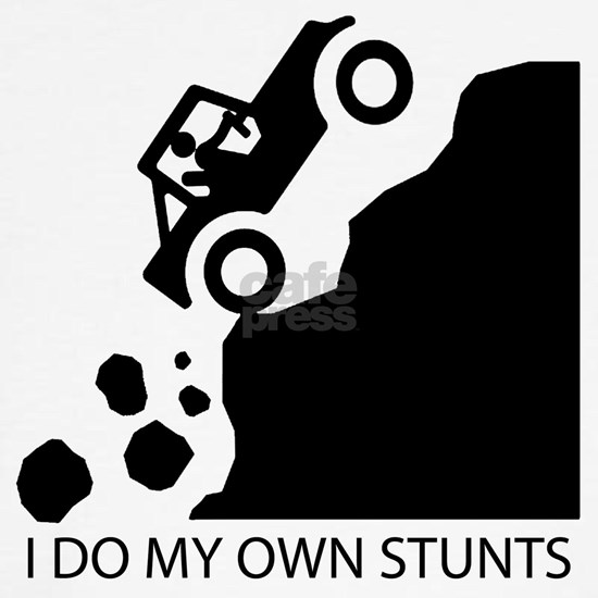 I do my own stunts copy