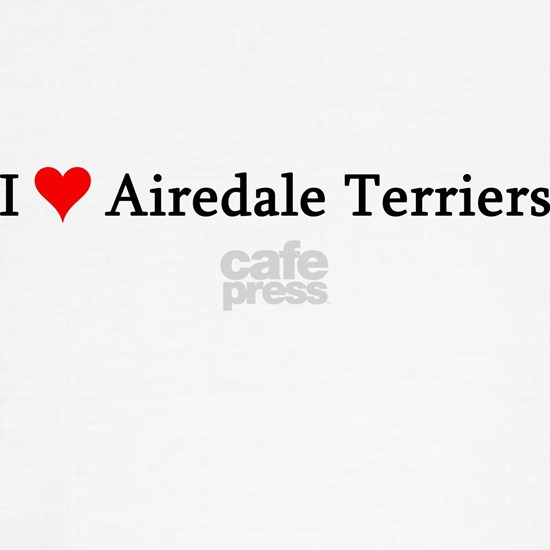 Airedale Terriers-white