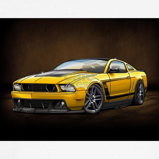 Boss 302 Yellow B