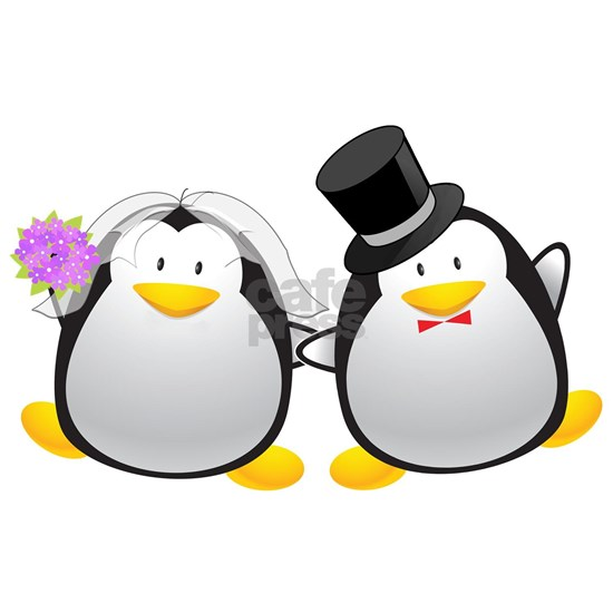 Penguin Bride and Groom
