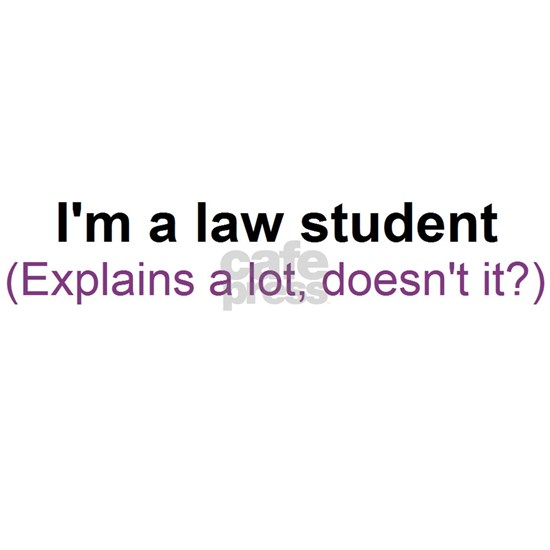 I'm a law student