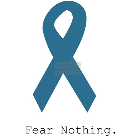 Fear Nothing. Teal Rib