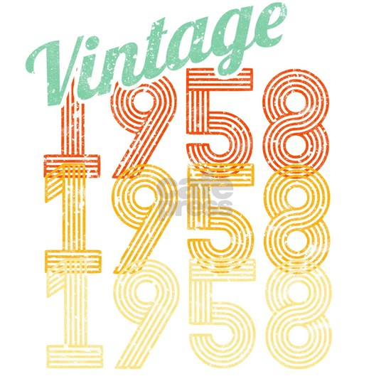 60th Birthday Vintage 1958 Classic