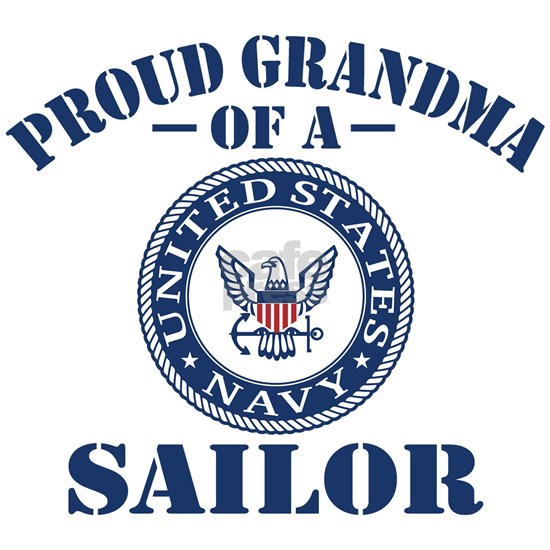 Proud Grandma Of A US Navy Sailor