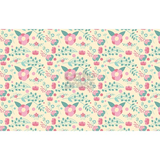 Romantic Pastel Floral Pattern