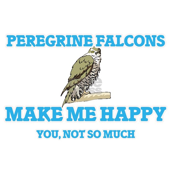 Peregrine Falcons Make Me Happy