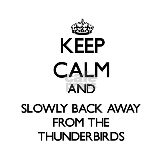 Keep calm and slowly back away from Thunderbirds