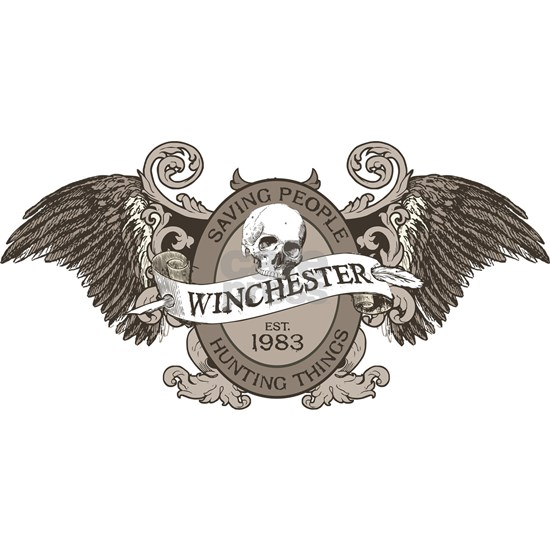 Winchester Brothers Crest Wings grey
