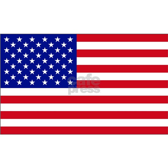 Cropped Flag USA Independence Day