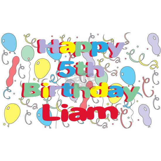 Liam's 5th Birthday