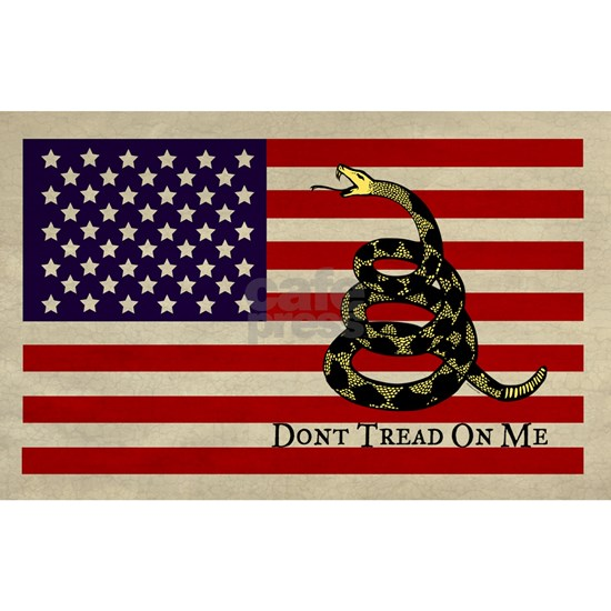 american flag gadsden rectangle