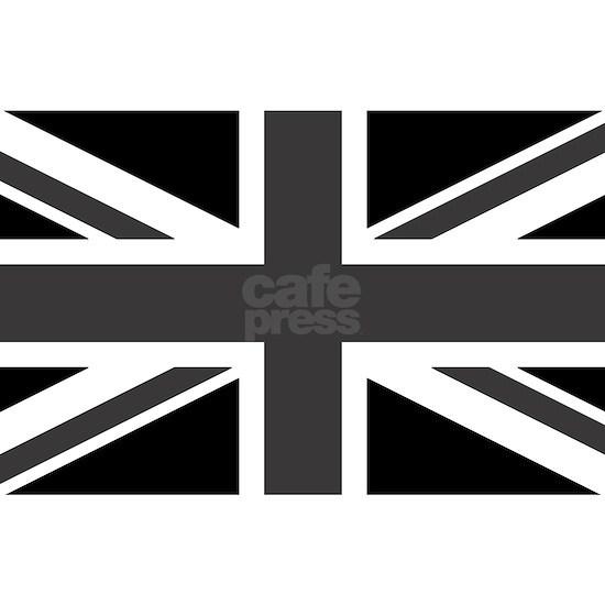 Union Jack - Black and White